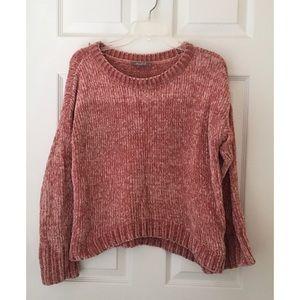Marled Reunited Clothing High-Low hem Sweater
